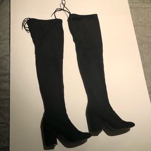 Steve Madden Suede Thigh High Boots